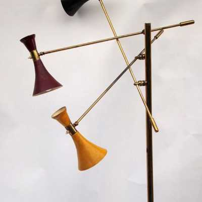 Triennial Floor Lamp, c.1950