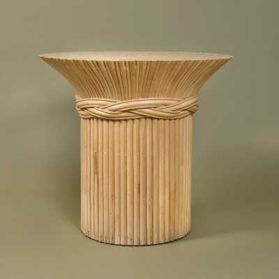 Pedestal, bamboo, anonymous, France, c.1980
