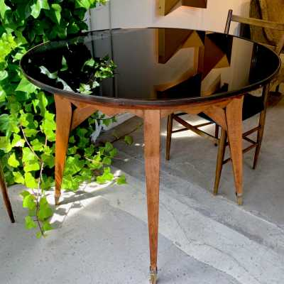 table-oak glass-years.40-italy