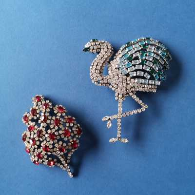 Fantasy brooches by Roger Jean-Pierre