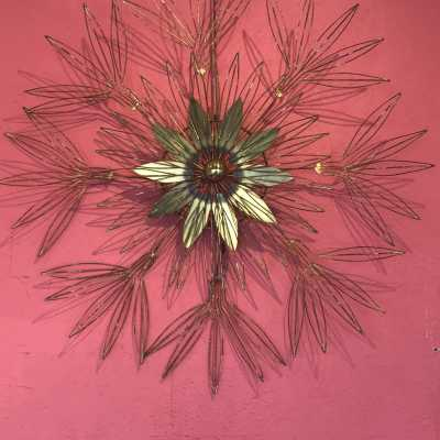 Wall sculpture by Curtis and Jere