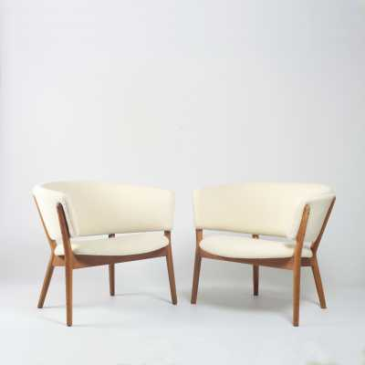 Set of 2 ND83 armchairs by Nanna Ditzel for SW Vejen