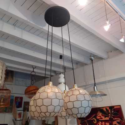 mother of pearl pendant light