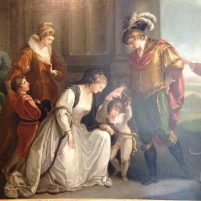 D'après William Hamilton, Elizabeth Woodwille et le Roi Edward IV