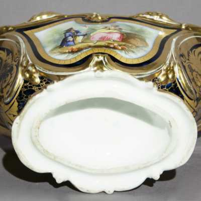 Coupe en porcelaine de Paris XIXème