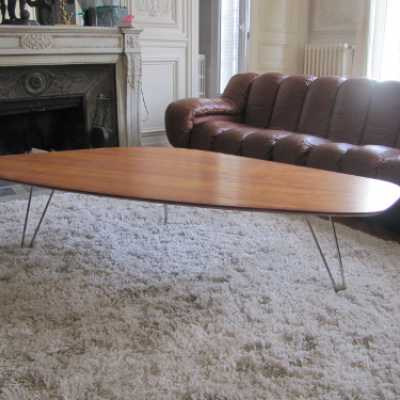 Table boomerang circa 1970