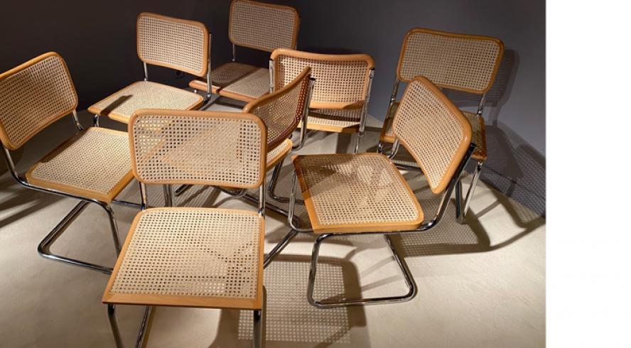 Cesca B32 chairs